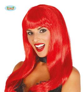 Parrucca capelli rossi