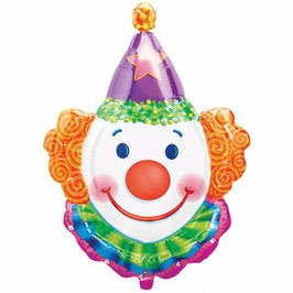 Palloncino testa clown