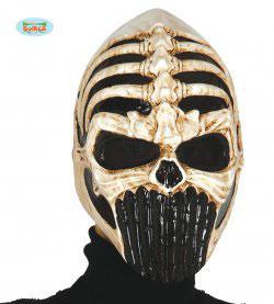 Maschera scheletro guerriero