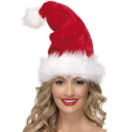 Cappello Babbo Natale deluxe