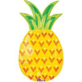 "Palloncino 31"" Super Shape mylar Pineapple, Ananas"
