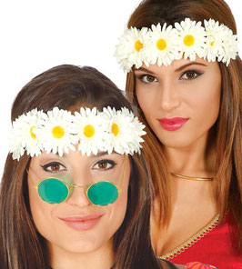 Tiara fiori margherite