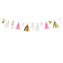 "Ghirlanda Rosa Oro ""Pink & Gold Garland"" 2,3mt"
