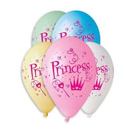 Palloncino Lattice Princess 100 pezzi 30 cm