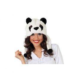 Cappello Panda Peluche