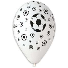 Palloncini Lattice Calcio 100 pezzi 30 cm