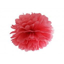 Pom Pom Rosso 25 cm 1pz