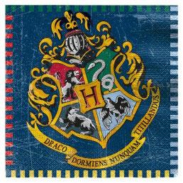 Tovagliolo Harry Potter 16pz