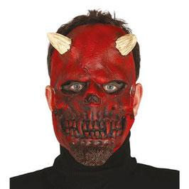 Maschera demonio in lattice