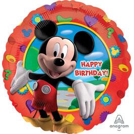 Palloncino  Mickey Happy Birthday