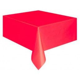 Tovaglia plastica rossa