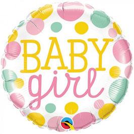 Palloncino pois baby girl/boy