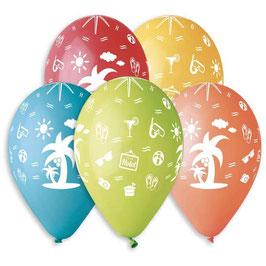 Palloncini Lattice Holidays 100 pezzi 30 cm