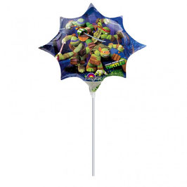 Palloncino Mini Shape Ninja Turtles