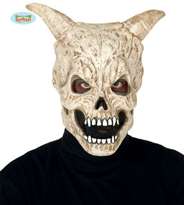 Maschera teschio demone