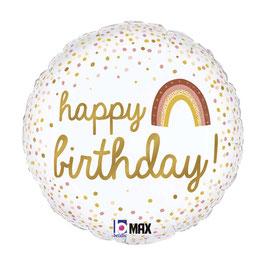 "Palloncino 18"" mylar Happy Birthday"
