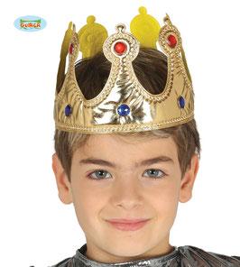 Corona re bambino