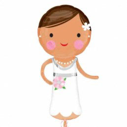 Palloncino sposa & sposo