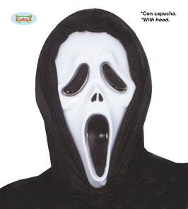 Maschera Scream con cappuccio