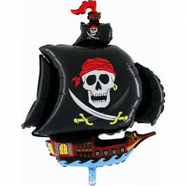 Palloncino Super Shape mylar Nave Pirata