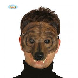 Maschera orso bruno