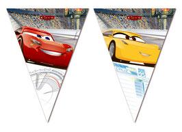 Festone Bandierine Cars 3