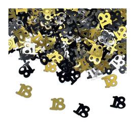 Confetti multicolor 18anni sagomati