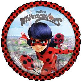 """Palloncino 18"""" mylar Ladybug """"Miraculous"""""""