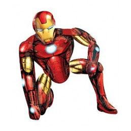 Palloncino Air Walker Iron Man 1 pezzo 93x116 cm
