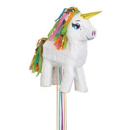 Piñata unicorno bianco