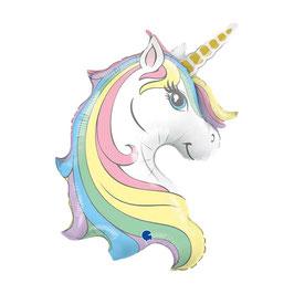 "Palloncino 39"" Super Shape Unicorno ""Macaron Unicorn"""