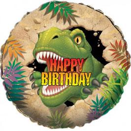 Palloncino Dinosauro happy birthday