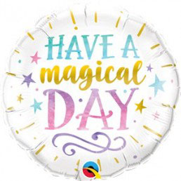 "Palloncino ""have a magical day"""