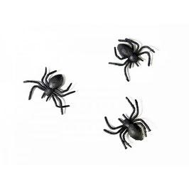 Ragni Neri di Plastica 10 pz