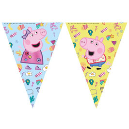 Festone Bandierina Peppa Pig Messy 1,23mt