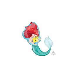 Palloncino Mylar Super Shape Ariel 74x43 cm