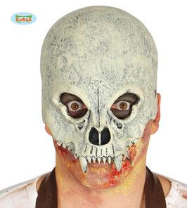 Maschera teschio vampiro