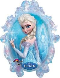 Palloncino Frozen specchio Anna ed Elsa