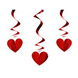 Swirl cuore rosso