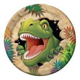 Piatto Grande Dinosauro