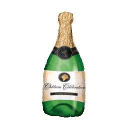 Palloncino bottiglia champagne