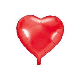 Palloncino mylar Cuore Rosso Medio
