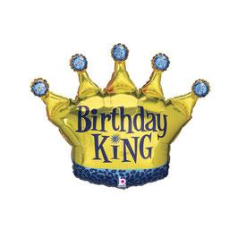 Palloncino corona king/queen