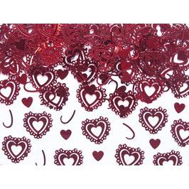 Confetti cuore rosso