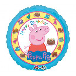 Palloncino  Peppa Pig happy birthday