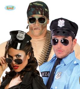 Occhiale a goccia polizia