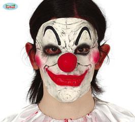 Maschera clown naso rosso