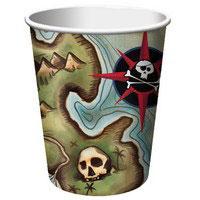 Bicchiere Pirati 8pz