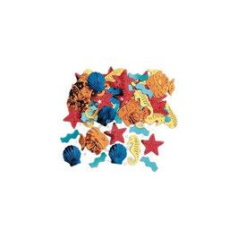 Confetti animali marini