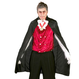 Mantello Dracula nero